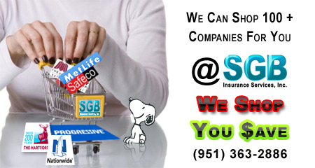Shopping Auto Insurance Quotes from SGB Insurance Services, Inc.