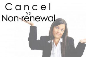 Insurance Non-Renewal Notices