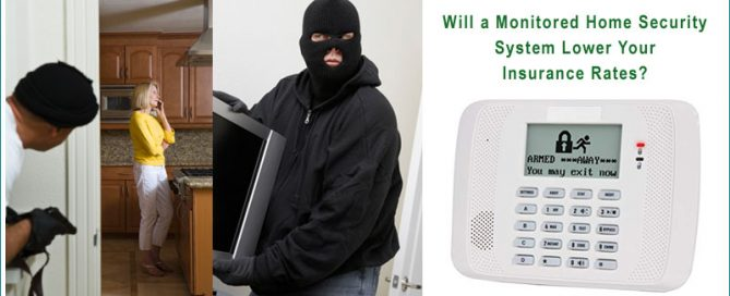 Lower Insurance Rates with Home Security System