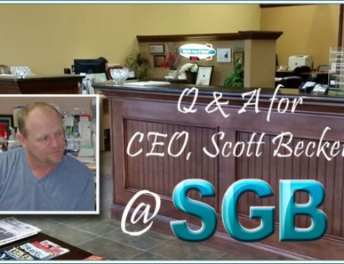 Insurance Questions for CEO Scott Becker