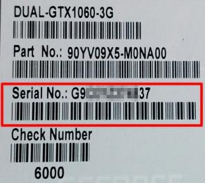 Get Model Number and Serial Number