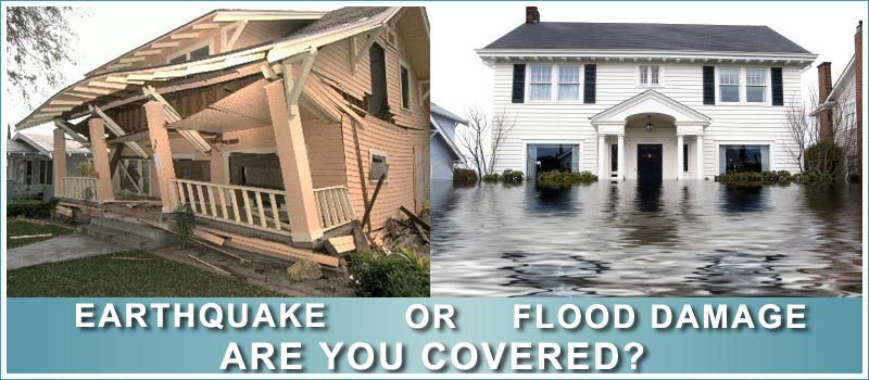 Earthquake Insurance Flood Insurance