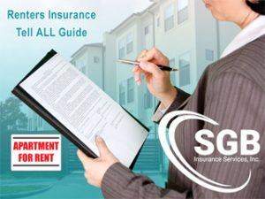 Renters Insurance Tell All Guide